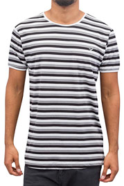 CAZZY CLANG Super Stripes T-Shirt White/Black *BWARE* at oboy.com
