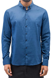 CAZZY CLANG Norick Shirt Blue at oboy.com