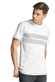 CAZZY CLANG Cannes T-Shirt White at oboy.com