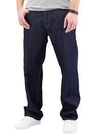 CYPRIME Bazon Loose Fit Jeans Dark Blue at oboy.com