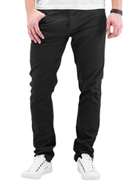 CYPRIME Baccus Slim Fit Jeans Black at oboy.com