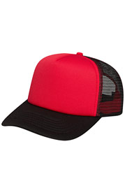 CYPRIME Basic Trucker Cap Red at oboy.com
