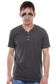 BLAST henley t-shirt at oboy.com
