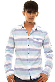 CATCH long sleeve shirt slim fit at oboy.com