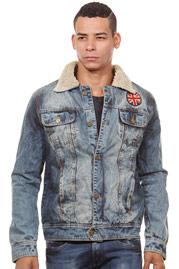 CATCH jeans jacket slim fit at oboy.com