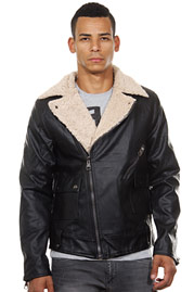CATCH biker jacket slim fit at oboy.com