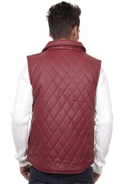 CATCH vest in valued leather look at oboy.com