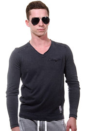 REPLAY jumper v-neck slim fit at oboy.com