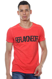 REPLAY t-shirt r-neck slim fit  at oboy.com