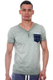 REPLAY t-shirt v-neck slim fit at oboy.com