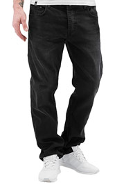 ECKO UNLTD. Selvedge Soo Straight Fit Jeans Black at oboy.com
