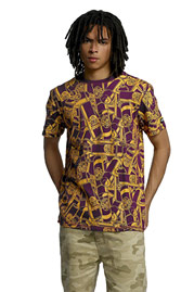 ECKO UNLTD. Spraypaint T-Shirt Purple at oboy.com