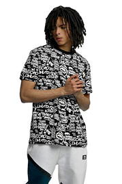 ECKO UNLTD. Allover T-Shirt Black at oboy.com
