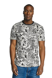 ECKO UNLTD. Comic Allover T-Shirt Black at oboy.com