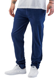 JUST RHYSE Cool Skinny Pants Indigo Melange at oboy.com