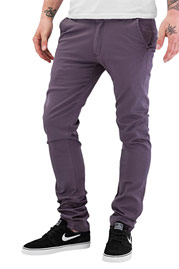 JUST RHYSE Basic 2.0 Chino Pants Dark Grey at oboy.com