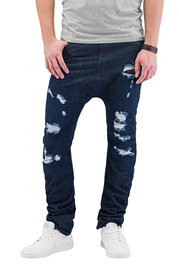 JUST RHYSE Ole Antifit Jeans Dark Blue at oboy.com