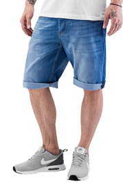 JUST RHYSE Shorts Light Blue at oboy.com