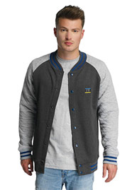 JUST RHYSE Clearlake College Jacket Anthracite at oboy.com