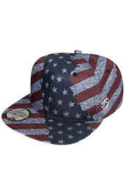 JUST RHYSE America Snapback Cap Colored at oboy.com