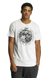 JUST RHYSE Wilde Side T-Shirt White at oboy.com