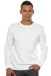 EXUMA jumper r-neck slim fit at oboy.com