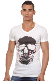 MARC*US t-shirt v-neck slim fit at oboy.com