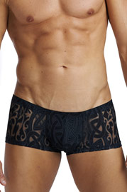 L´HOMME INVISIBLE DEVORE TATTOO mini trunks at oboy.com