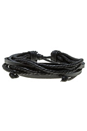 GETTO leather bracelet WRAP at oboy.com
