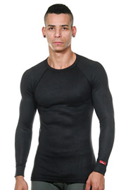 BLACKSPADE THERMAL longsleeve shirt at oboy.com
