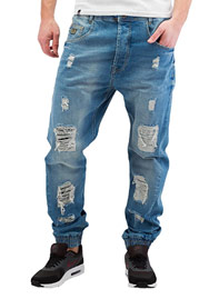 WHO SHOT YA  Axel  Antifit Jeans Light Blue Denim at oboy.com