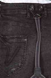 VSCT jeans with suspenders at oboy.com
