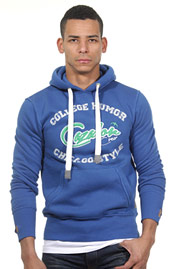CAZADOR sweater with hood at oboy.com
