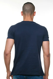 T-Shirt navy EX-PENT at oboy.com