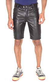 BOCKLE leather shorts at oboy.com