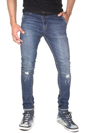 2Y Used Jeans Dark Blue at oboy.com
