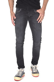 2Y Rivet Jeans Black at oboy.com