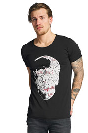 Skull T-Shirt Black at oboy.com