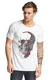 2Y Skull T-Shirt White at oboy.com