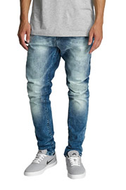 2Y Kiel Slim Fit Jeans Denim Blue at oboy.com