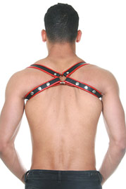 MISTER B Leather Sling Harness Premium at oboy.com